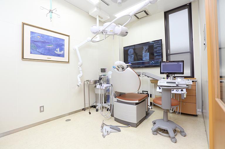 久喜市久喜の矯正・矯正歯科の関根歯科医院の診療室