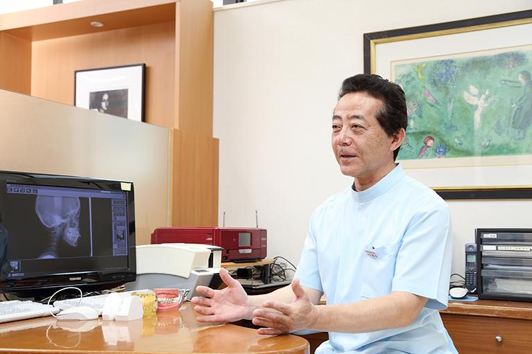 久喜市久喜の矯正・矯正歯科の関根歯科医院のミニスクリュー(インプラント)矯正で活躍するCT